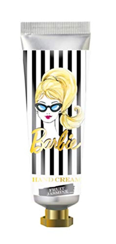 麻痺粗い満員ヒューマンリンク Barbie(バービー) フレグランス ハンドクリーム 60ml (フルーツ ジャスミンの香り) ハンドケア 保湿