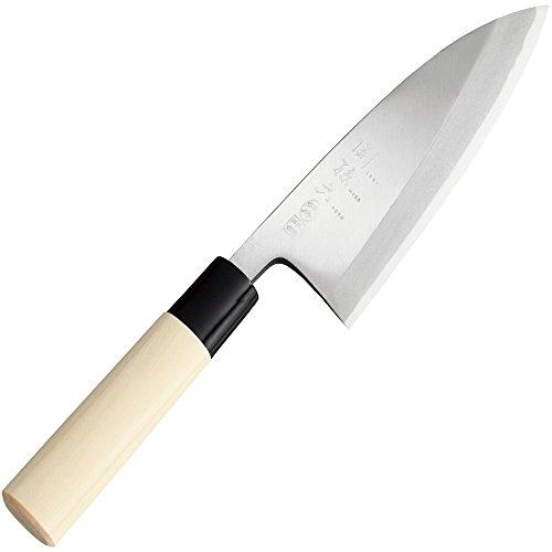 貝印(Kai Corporation) 関孫六 本鋼 出刃包丁 150mm 銀寿 AK5202