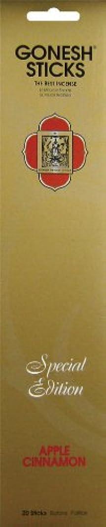 外交問題強風の慈悲でGONESH スペシャルエディション スティック 【 アップルシナモン 】 20本入
