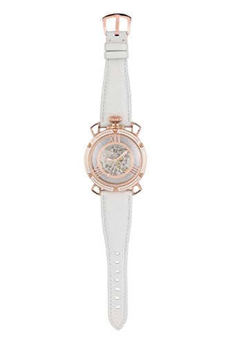 TOMORA TOKYO(トモラ トウキョウ) 腕時計 日本製 手巻き ラウンドフェイス ピンクゴールド×ホワイト ホワ...