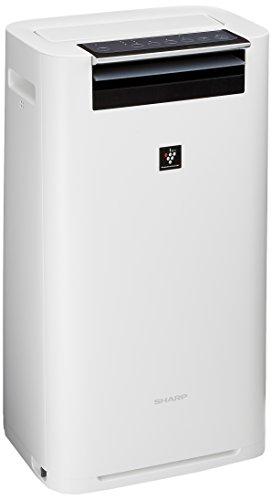シャープ 加湿 空気清浄機 プラズマクラスター 25000 ハイグレード 13畳 / 空気清浄 23畳 ホワイト KI-GS50-W