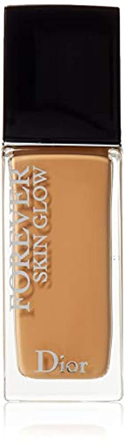 正規化最高苛性クリスチャンディオール Dior Forever Skin Glow 24H Wear High Perfection Foundation SPF 35 - # 4W (Warm) 30ml/1oz並行輸入品
