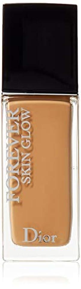 一回温かい乱気流クリスチャンディオール Dior Forever Skin Glow 24H Wear High Perfection Foundation SPF 35 - # 4W (Warm) 30ml/1oz並行輸入品