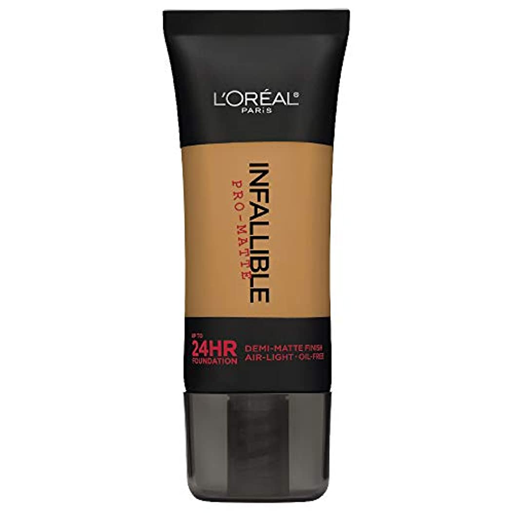 大宇宙宴会バイナリL'Oreal Paris Infallible Pro-Matte Foundation Makeup, 109 Classic Tan, 1 fl. oz[並行輸入品]