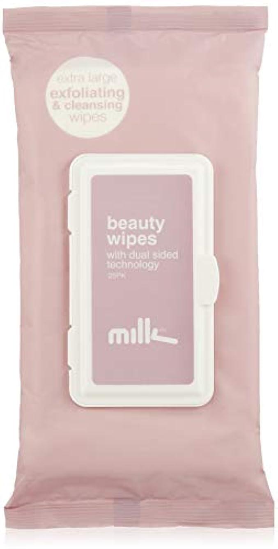 債権者膜銀河MILK(ミルク) BEAUTY WIPES クレンジング 25枚