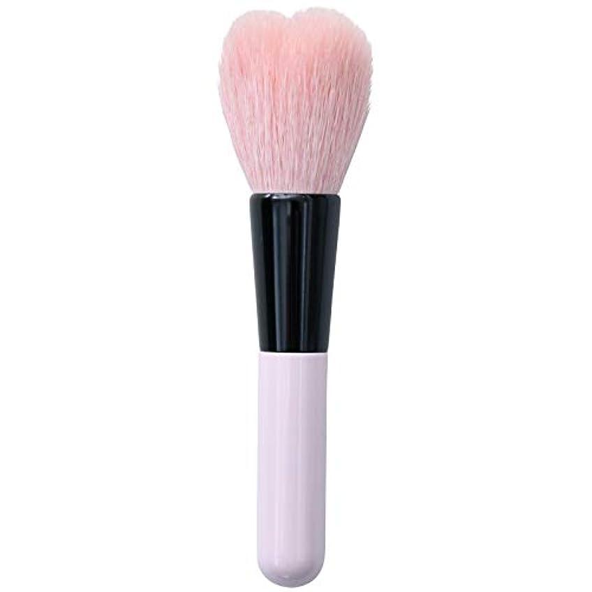 規制するバーマド変わる一休園 Aoi 熊野 化粧筆 ハートチーク 11×2.3×1.4cm