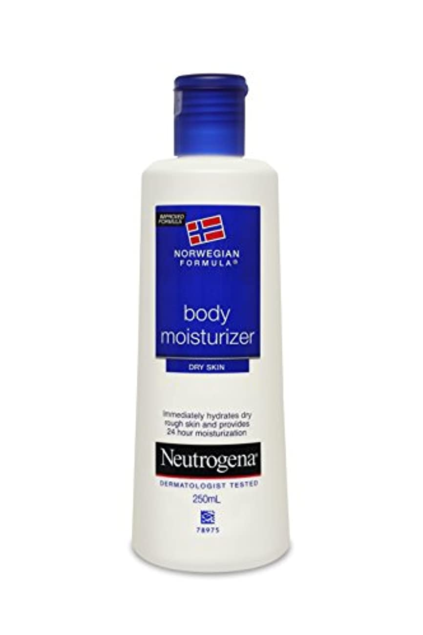 グレー海軍吹きさらしNeutrogena Norwegian Formula Body Moisturizer (for Dry Skin), 250ml