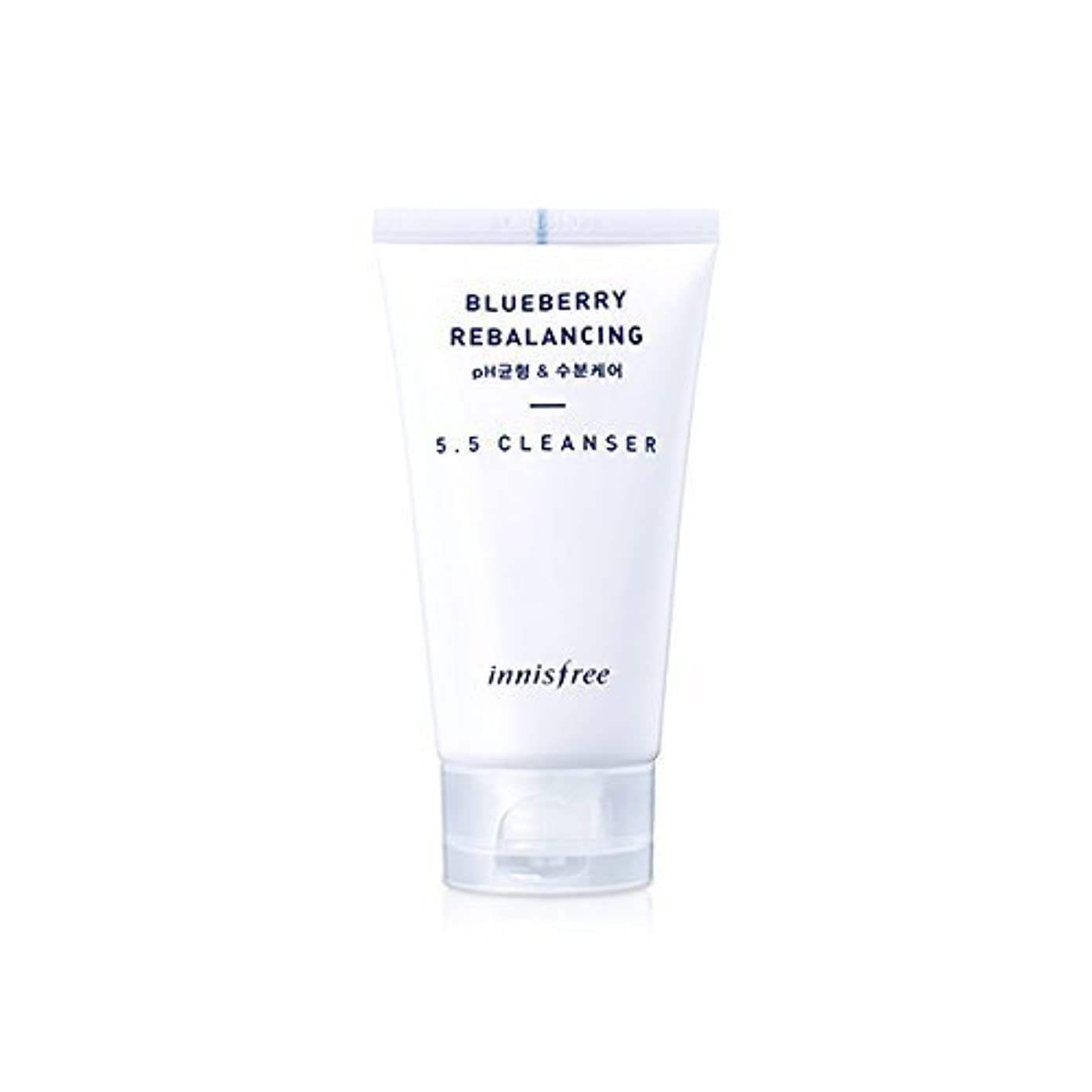思慮深い発掘する事Innisfree Blueberry Rebalancing 5.5 Cleanser 100ml [並行輸入品]