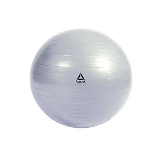 エクササイズ ジムボール 65cm グレー/ブルー RAB-11016BL DVD Reebok(リーボック) リーボック(Reebok) Gymball