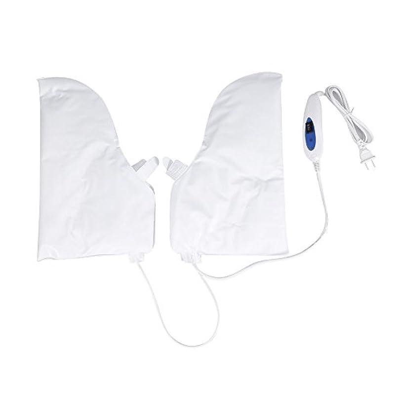つぶすお父さん溶岩蒸し手袋 ハンドマスク 保湿グローブ 電熱手袋 ヒートグローブ 加熱式 電熱 手ケア ハンドケア 2つ加熱モード 乾燥対策 手荒れ対策 補水 保湿 美白 しっとり 美容 手袋