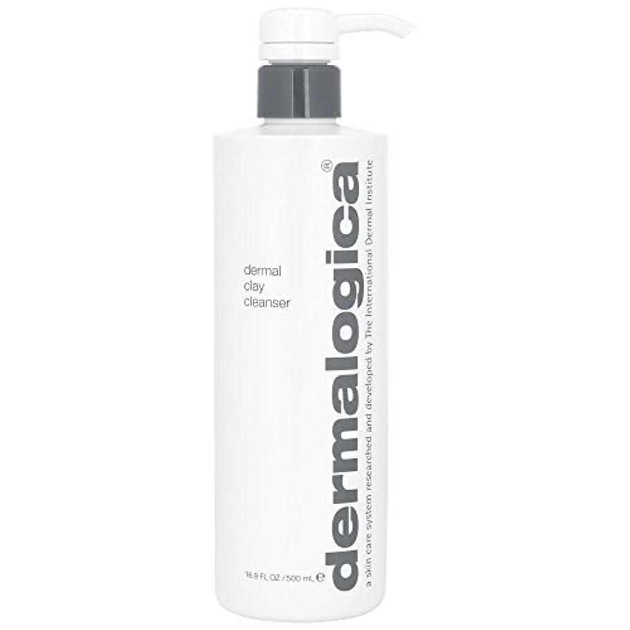 天井公演気体のダーマロジカ真皮クレイクレンザー500ミリリットル (Dermalogica) (x2) - Dermalogica Dermal Clay Cleanser 500ml (Pack of 2) [並行輸入品]