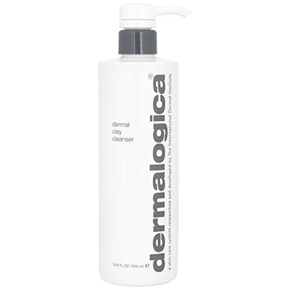 外観代表して兄ダーマロジカ真皮クレイクレンザー500ミリリットル (Dermalogica) (x2) - Dermalogica Dermal Clay Cleanser 500ml (Pack of 2) [並行輸入品]