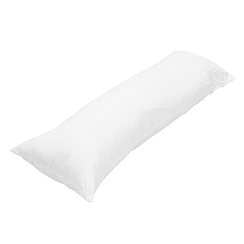 抱き枕本体 中身 カバー用 無地 高弾力でふっくら 等身大抱き枕 ロングクッション (160*50cm)