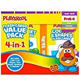 (Full deluxe pack) - Flash Cards Value Pack - Alphabet/First Words/Shapes & Colours/Numbers PreK - K