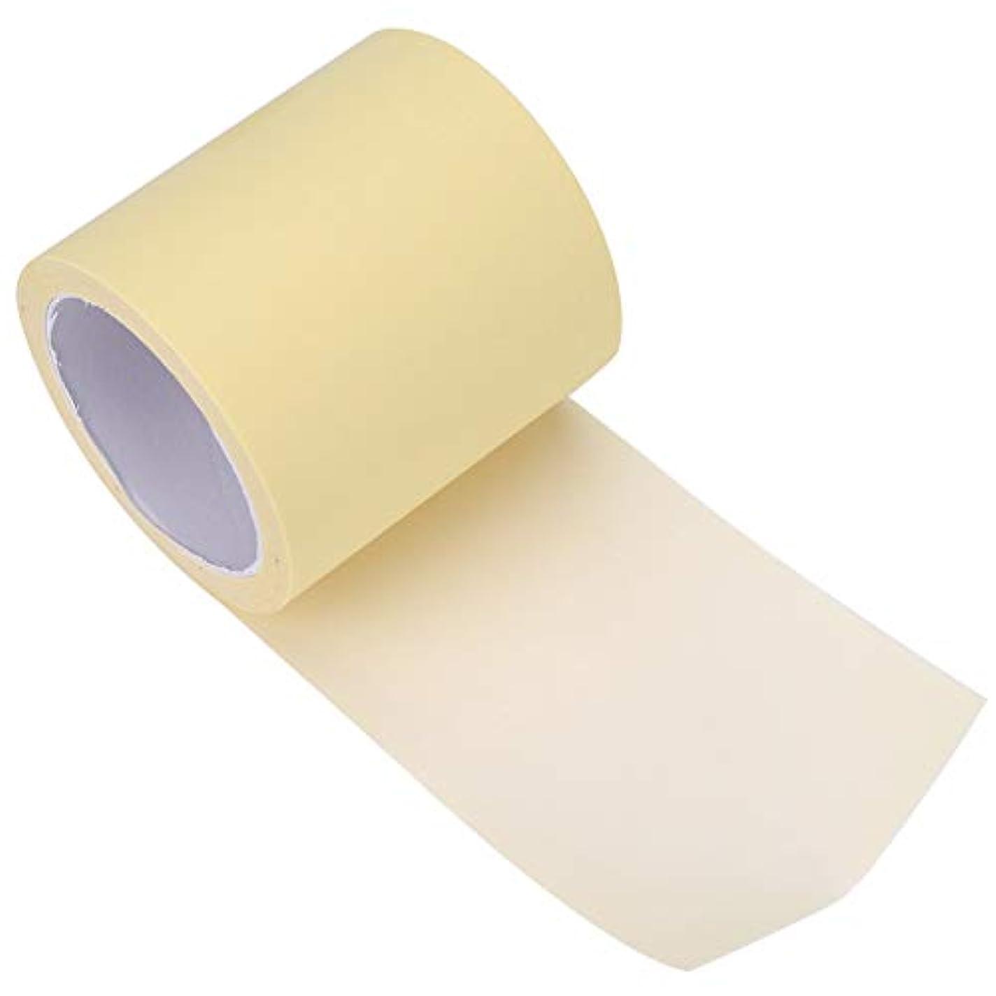 隠煙写真を描く極薄0.012 mm 脇パッド 脇の下 汗止めパッド 肌に優しい 抗菌加工 防水性 男女兼用 透明 長さ600 cm