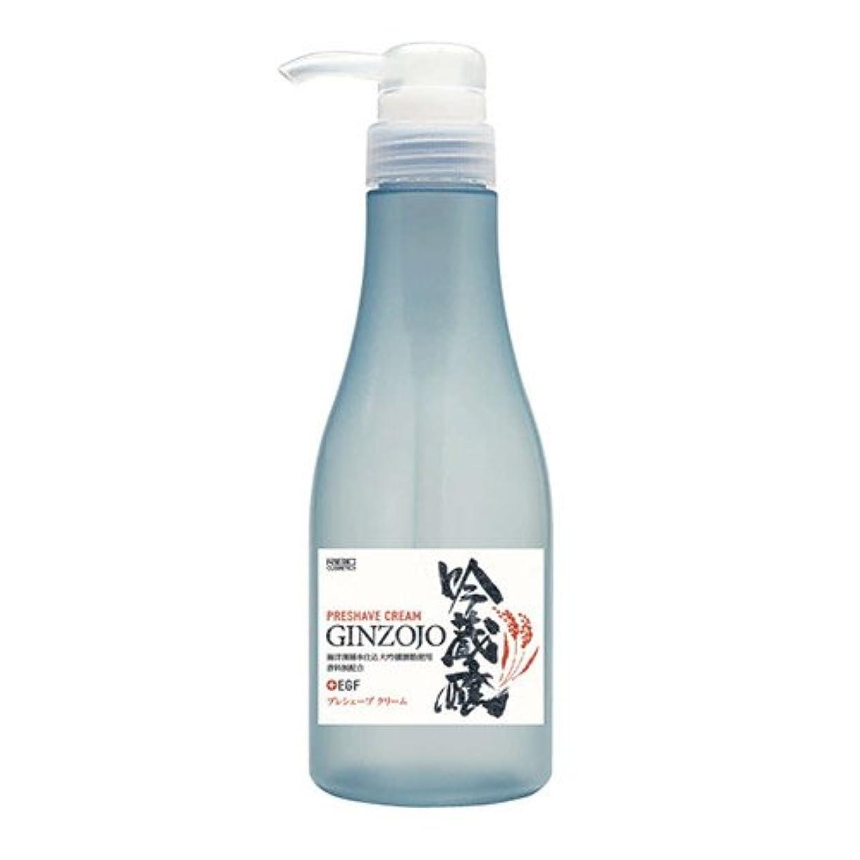 赤ペインティング頬日本ケミコス株式会社 吟蔵醸 プレシェーブクリームKF 360ml