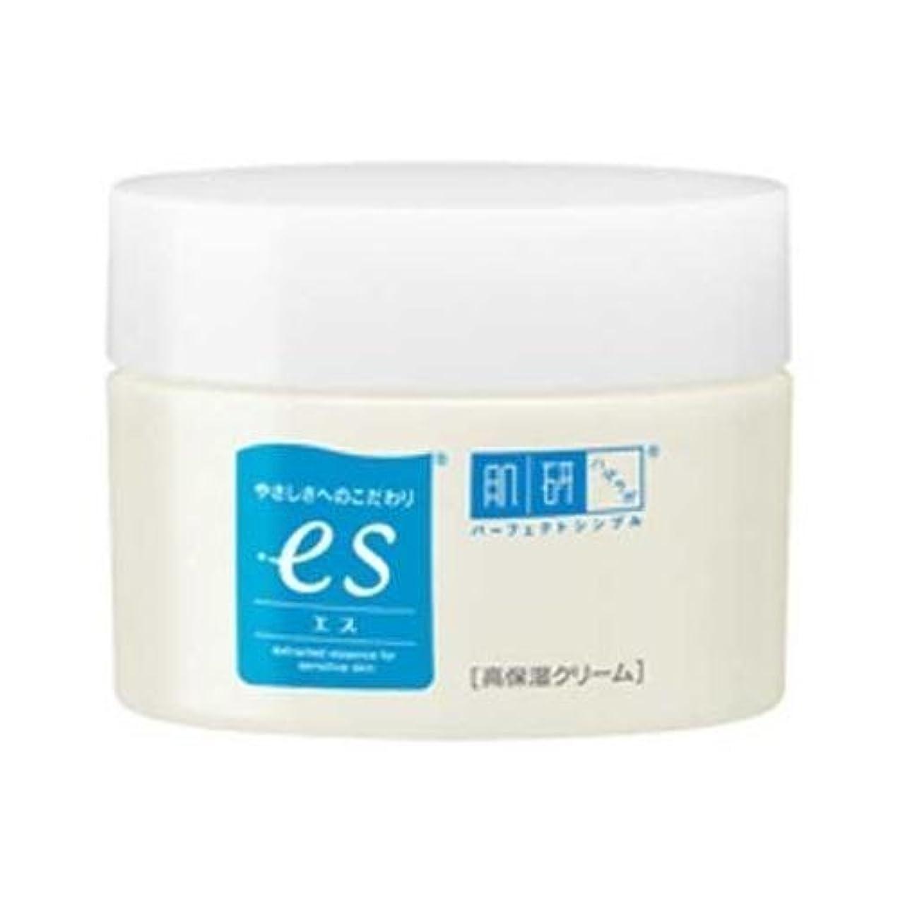 かみそりチューリップ伝染性の肌ラボ es(エス) ナノ化ミネラルヒアルロン酸配合 無添加処方 高保湿クリーム 50g