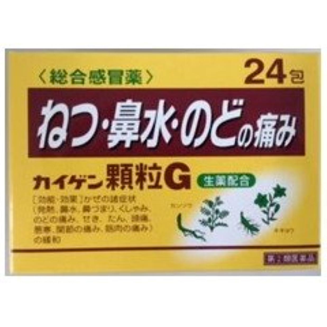 症候群グレー薬理学【指定第2類医薬品】カイゲン顆粒G 24包