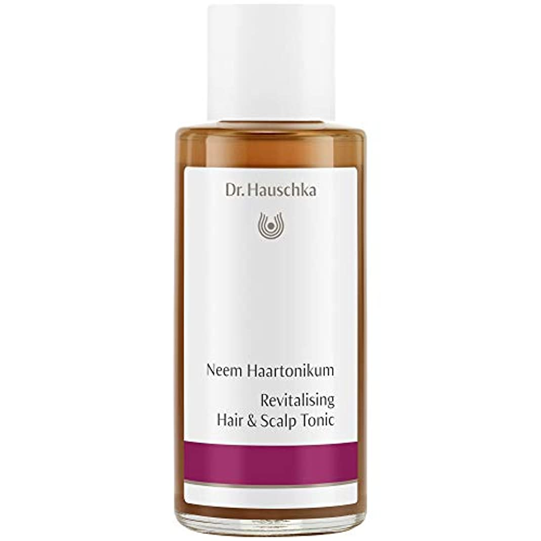 ビデオシットコム説教[Dr Hauschka] Drハウシュカニームヘアローション100ミリリットル - Dr Hauschka Neem Hair Lotion 100ml [並行輸入品]