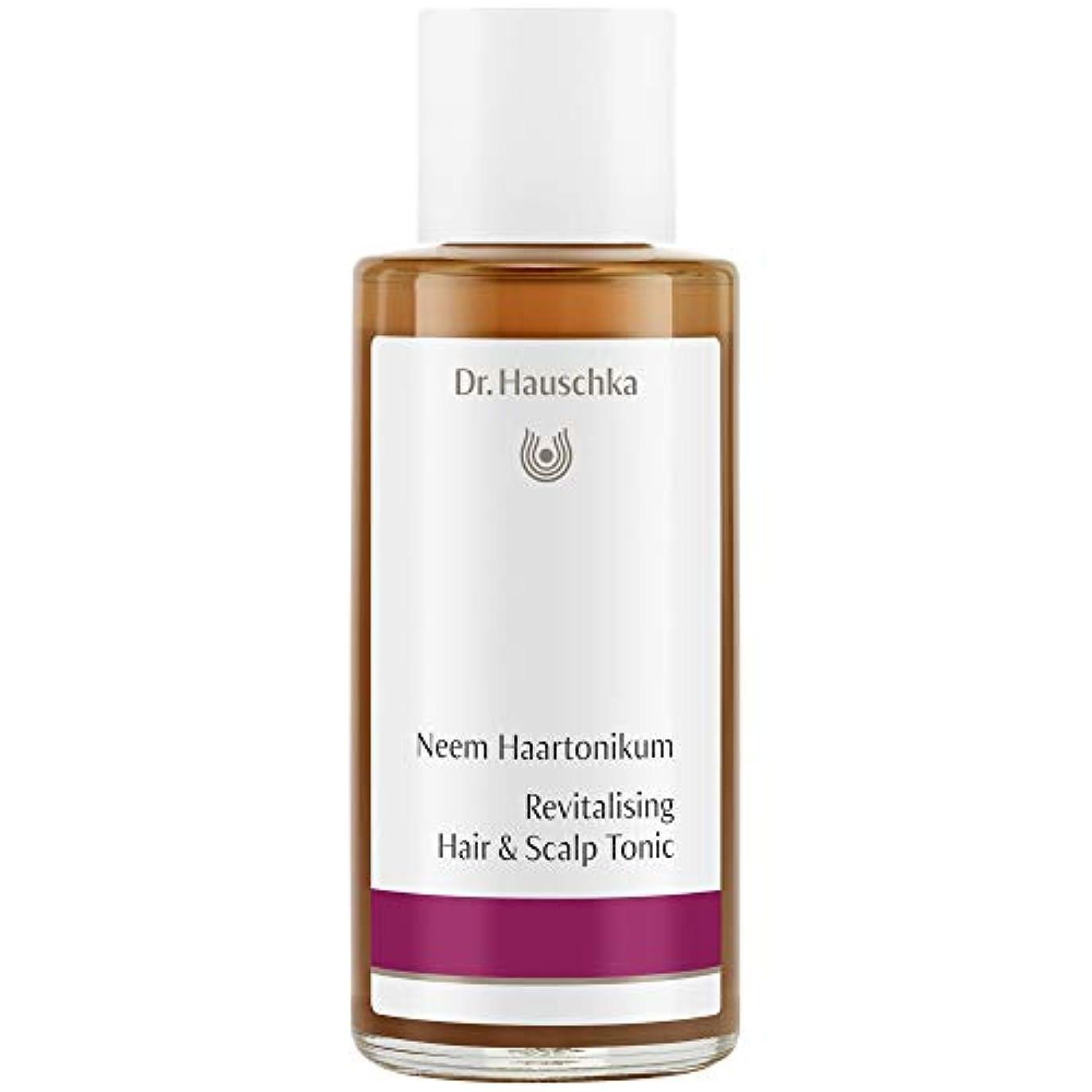 思い出させる銅送る[Dr Hauschka] Drハウシュカニームヘアローション100ミリリットル - Dr Hauschka Neem Hair Lotion 100ml [並行輸入品]