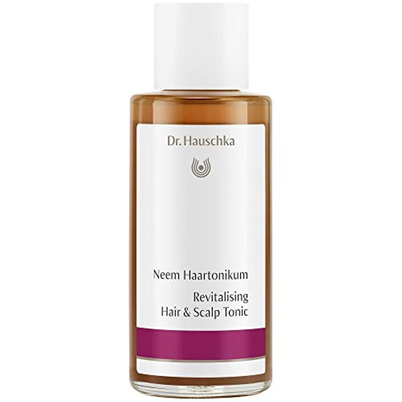 コンソールジャンピングジャック発見[Dr Hauschka] Drハウシュカニームヘアローション100ミリリットル - Dr Hauschka Neem Hair Lotion 100ml [並行輸入品]