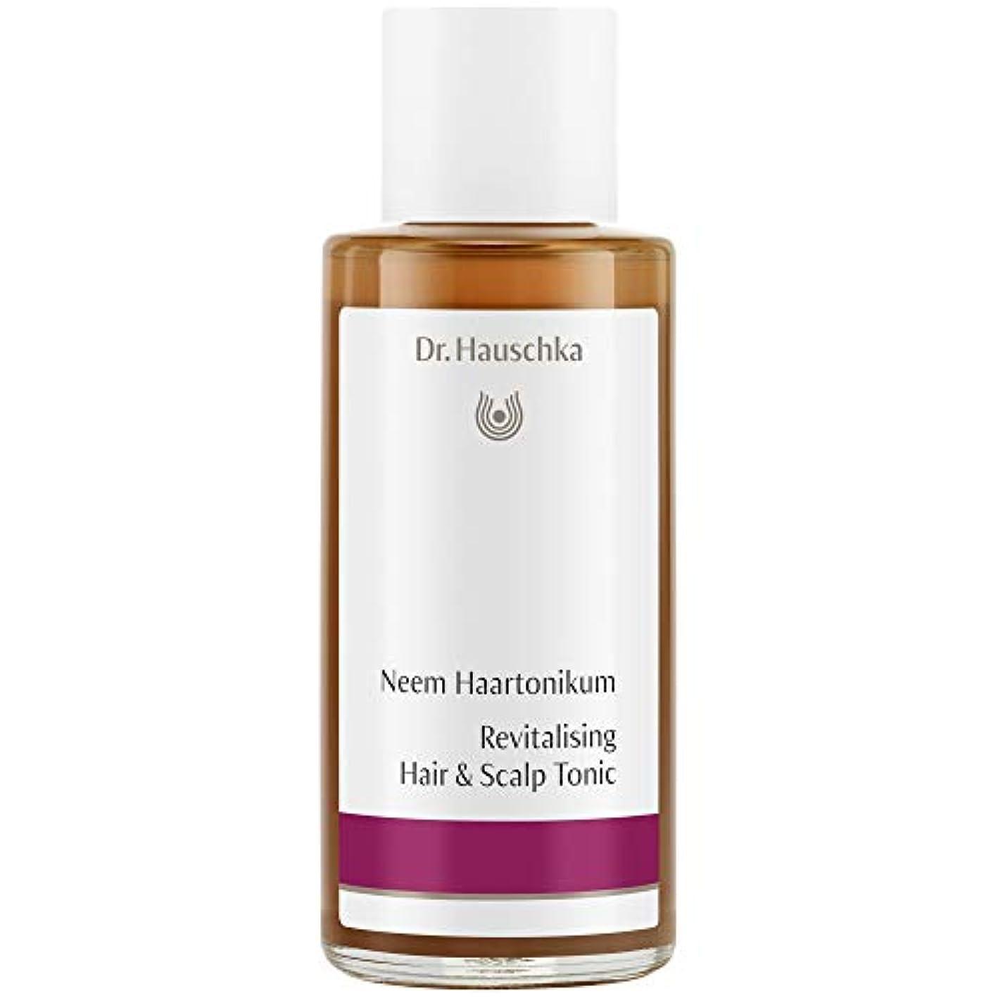 責任者シーン放射能[Dr Hauschka] Drハウシュカニームヘアローション100ミリリットル - Dr Hauschka Neem Hair Lotion 100ml [並行輸入品]
