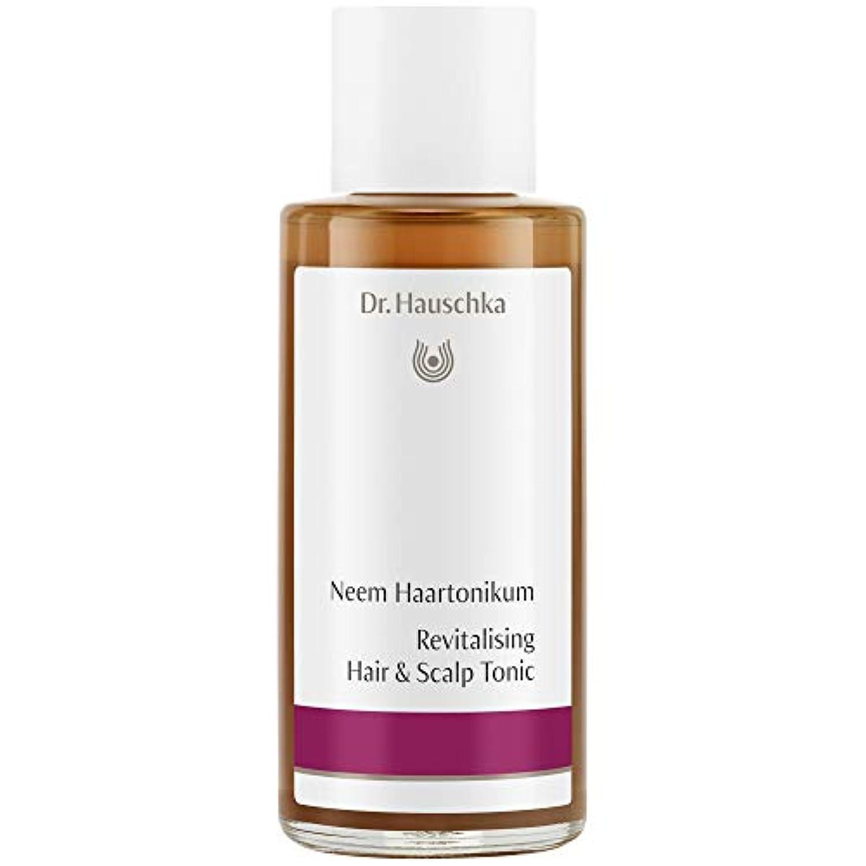 教養がある文化ダンス[Dr Hauschka] Drハウシュカニームヘアローション100ミリリットル - Dr Hauschka Neem Hair Lotion 100ml [並行輸入品]