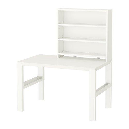 IKEAデスクwithアドオンユニット、ホワイト