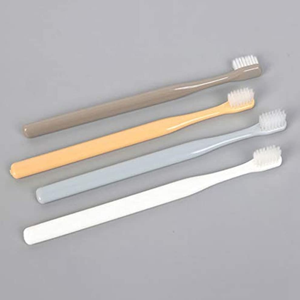 アヒルグリーンバックセージEVA-JP 歯ブラシ×4本 ナノメートルブラシ 高密度 柔らかいブラシ 日本式歯ブラシ 極薄ヘッド 旅行用歯ブラシ