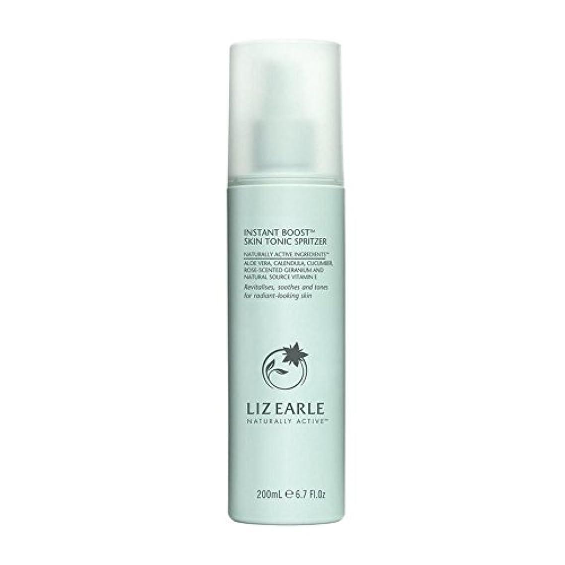 デクリメントアジア無駄なリズアールインスタントブーストスキントニックスプリッツァーの200ミリリットル x4 - Liz Earle Instant Boost Skin Tonic Spritzer 200ml (Pack of 4) [並行輸入品]