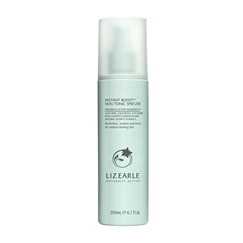 耐えられるイブニング甘いリズアールインスタントブーストスキントニックスプリッツァーの200ミリリットル x4 - Liz Earle Instant Boost Skin Tonic Spritzer 200ml (Pack of 4) [並行輸入品]