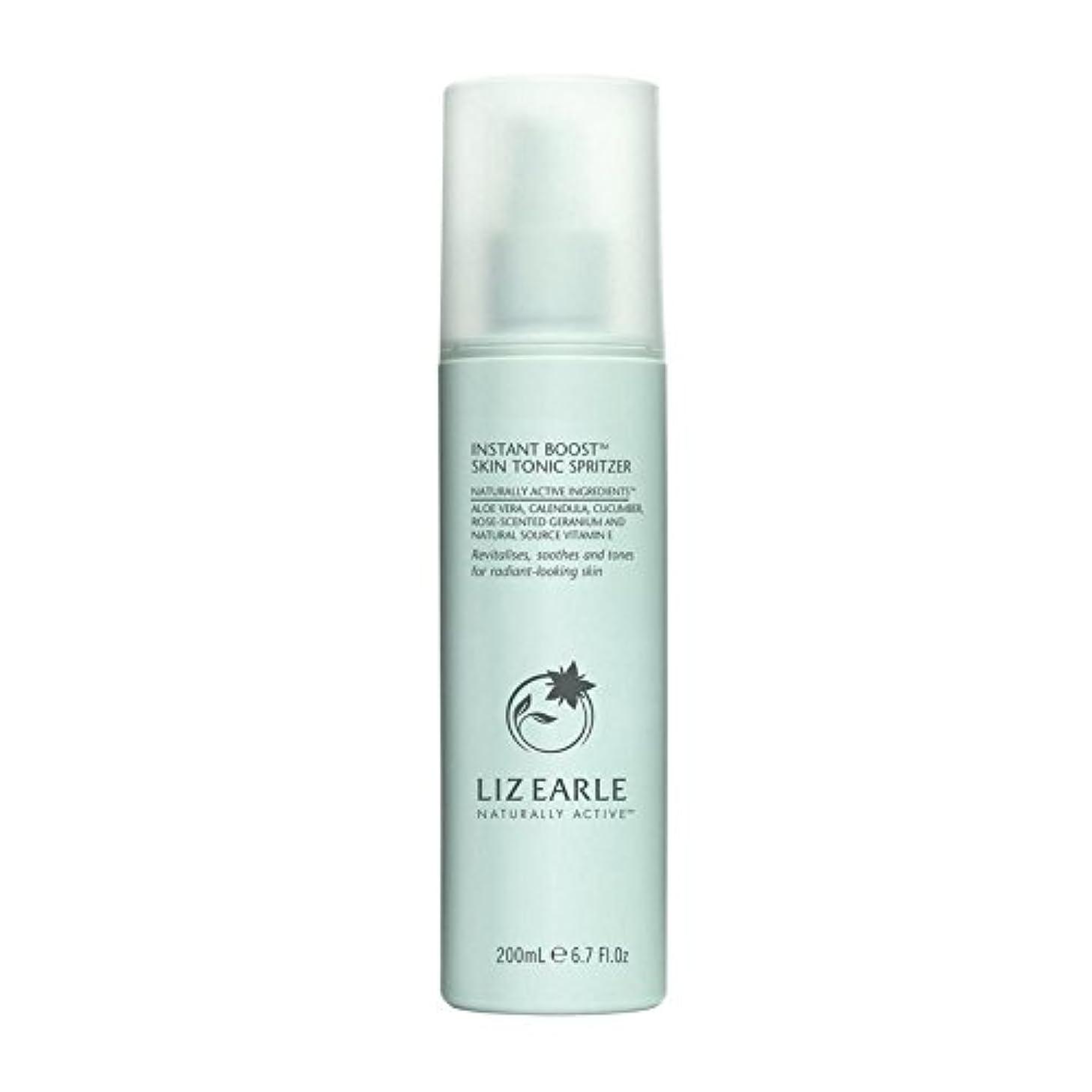 混雑摂氏度エゴマニアリズアールインスタントブーストスキントニックスプリッツァーの200ミリリットル x4 - Liz Earle Instant Boost Skin Tonic Spritzer 200ml (Pack of 4) [並行輸入品]