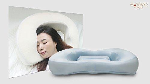 MASSIMO MAQRA (マッシーモ マキュラ) マルチスリーピングピロー 自由な寝方が出来る革新的な枕