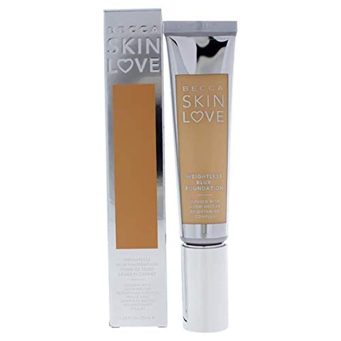 有毒きゅうりスリチンモイベッカ Skin Love Weightless Blur Foundation - # Vanilla 35ml/1.23oz並行輸入品