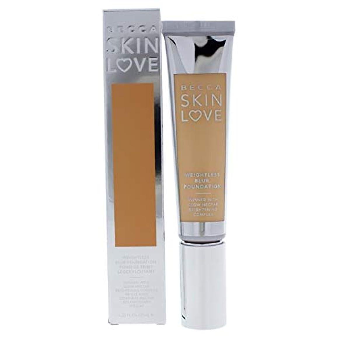 シーフード走る増加するベッカ Skin Love Weightless Blur Foundation - # Vanilla 35ml/1.23oz並行輸入品