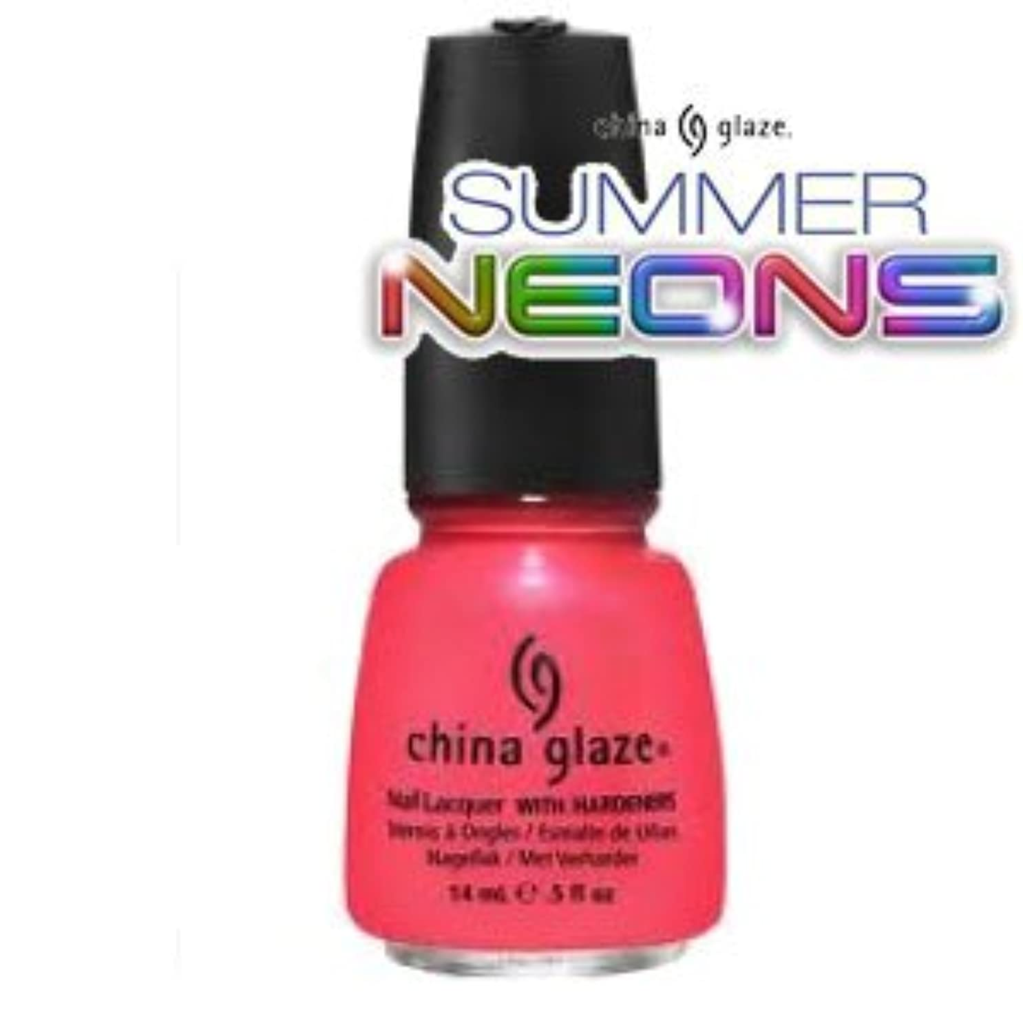 狂信者虹将来の(チャイナグレイズ)China Glaze Flirty Tankiniーサマーネオン コレクション [海外直送品][並行輸入品]