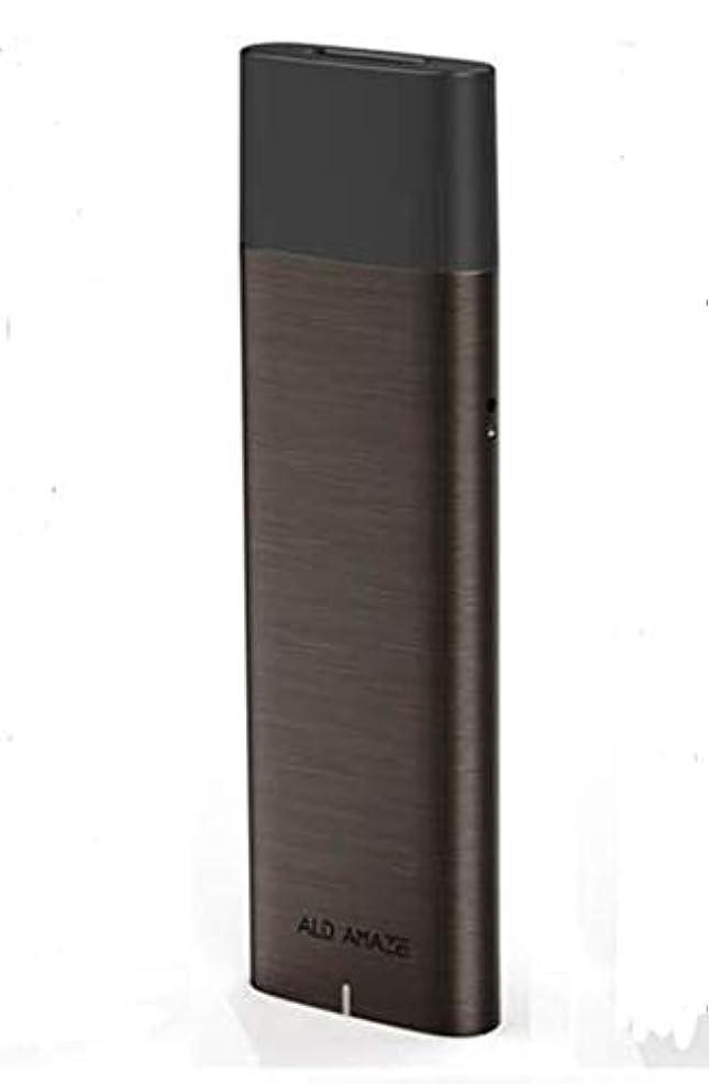 思いやりのある縫うヒゲクジラ新サブセクションALD VTOPスモークサクションスモークスモーク電子スモークインテグラルユニットスモールスモーク電子スモークコスチューム (Color : ブラウン)