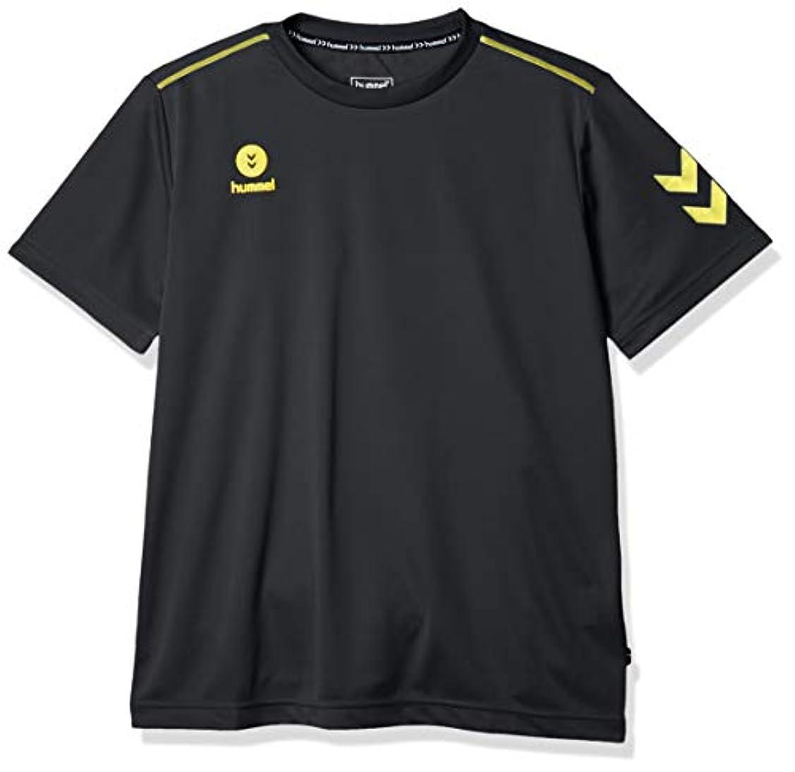 箱倍増可動式[ヒュンメル] 半袖シャツ ワンポイント メンズ