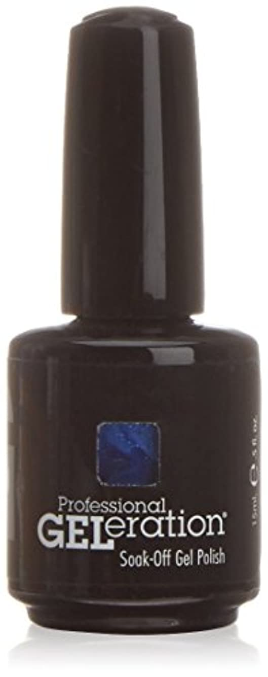 うめき声歯痛試みJessica GELeration Gel Polish - Indigo Blues - 15ml / 0.5oz