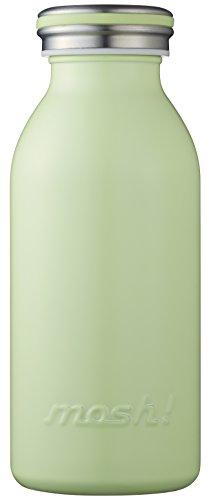 水筒 真空断熱 スクリュー式  マグ ボトル 0.35L グリ...