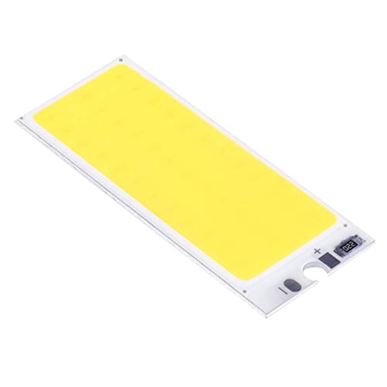 LED電球ウォームホワイト/ピュアホワイト36 COB LEDチップパネルバルブ220mA 12V車内ランプDIY用ナイトライト(カラー:ウォームホワイト)