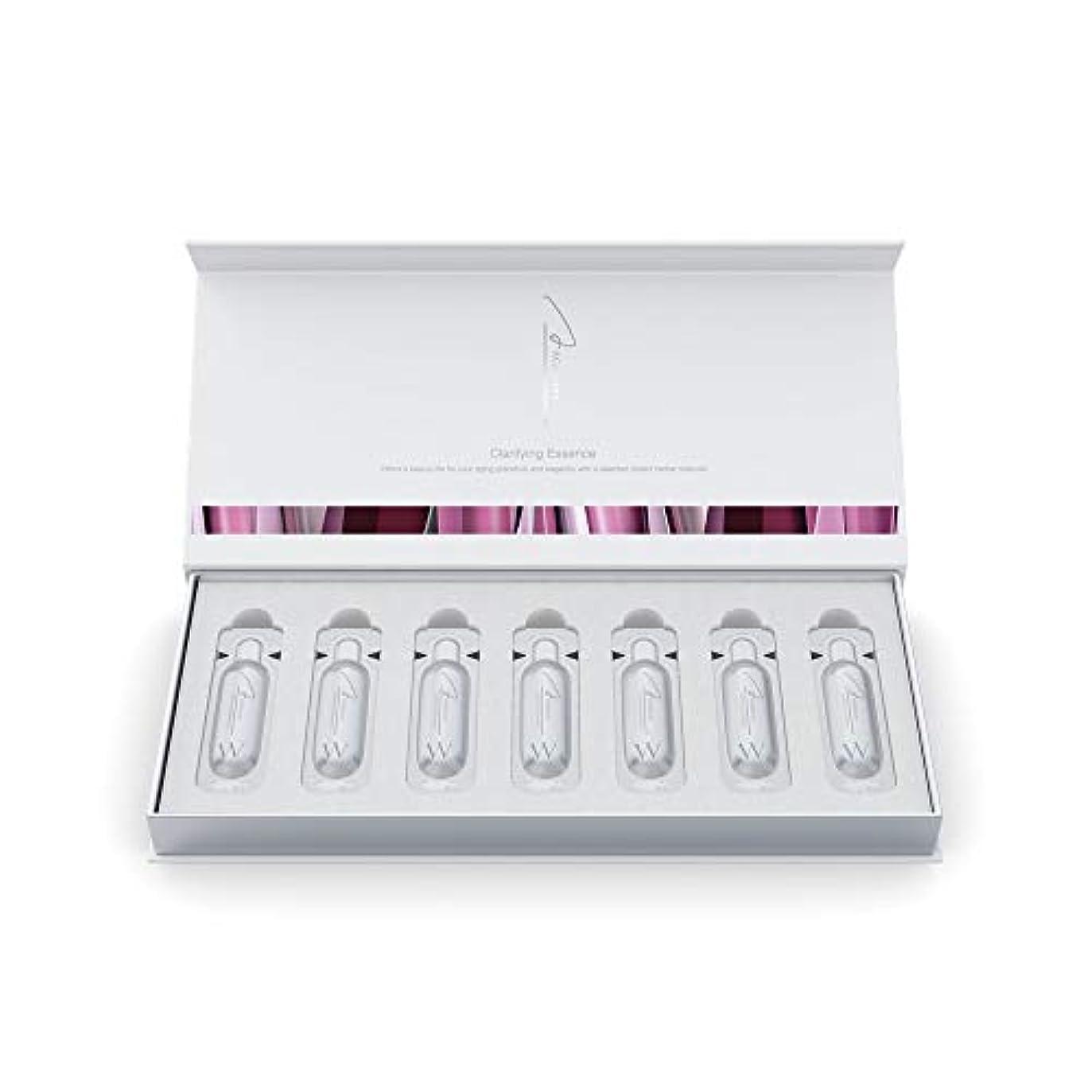 恐怖症人工的なセブンアクシージア (AXXZIA) エイジーセオリー クラリファイング エッセンス 28mL(1mL×28本)| 美容液 40代 50代 おススメ 化粧品 ハリ