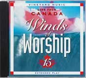 Winds of Worship, Vol. 15: Live from Canada