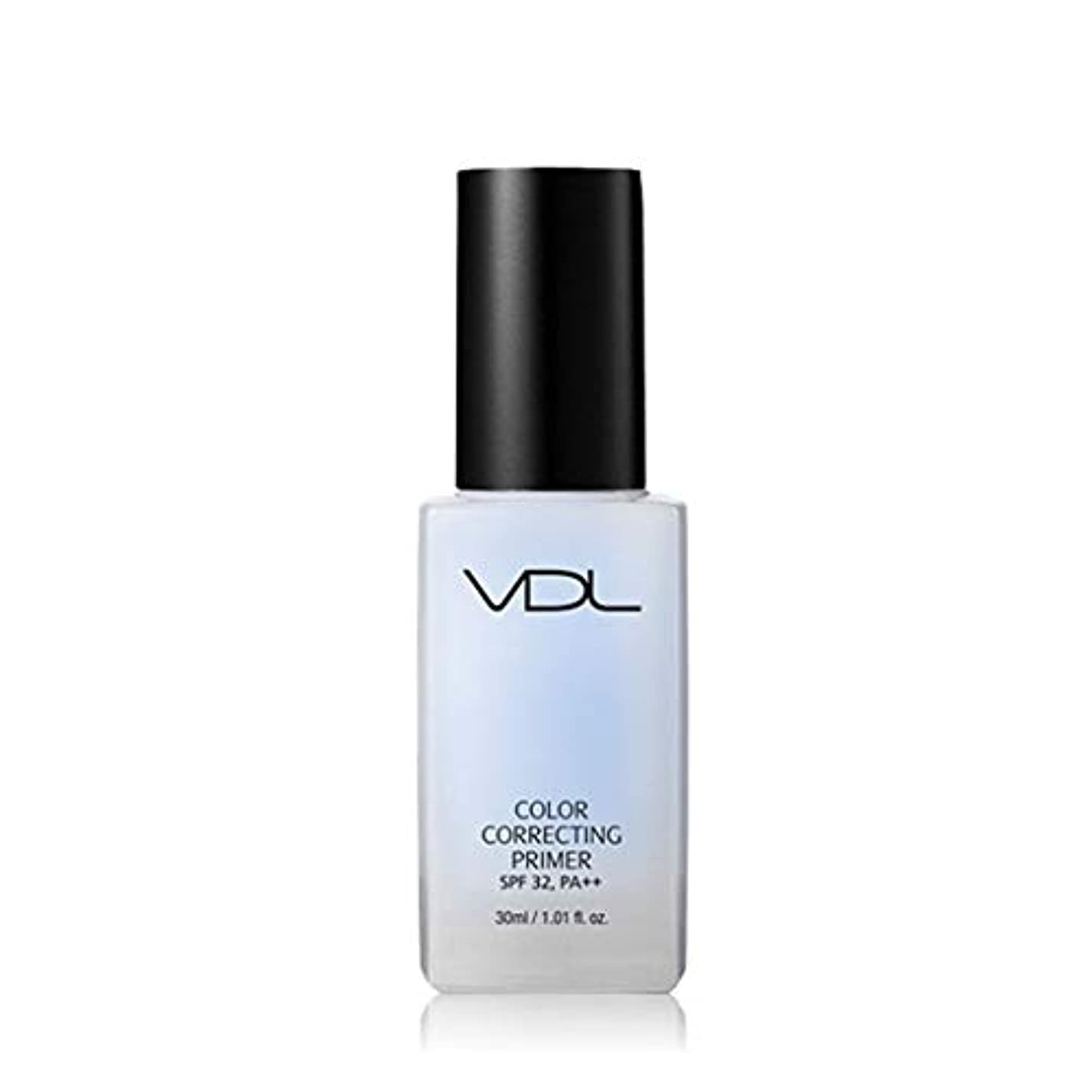 乳白色腹部縞模様のVDLカラーコレクティンプライマー30ml 3カラーメイクアップベース、VDL Color Correcting Primer 30ml 3-Colors Make-up Base [並行輸入品] (Serenity)