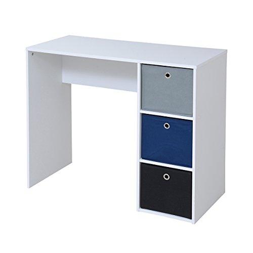 JKプラン Folding box series Desk TYPEA ホワイト BDC-0181-WH