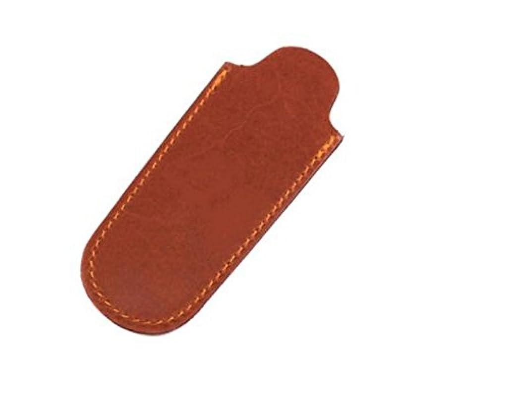 アカデミックビル送ったMax Capdebarthes Pocket knife sheath, 10 cm, Maya (brown)
