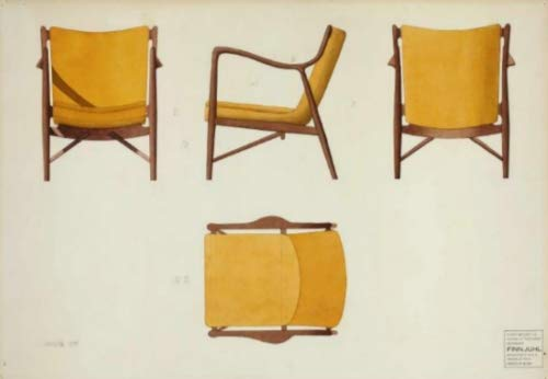 RoomClip商品情報 - フィン・ユール アームチェア(1945年)ポスター