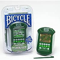 Bicycle Illuminated Touch Pad Electronic Handheld Blackjack Game by Tehno Source [並行輸入品]