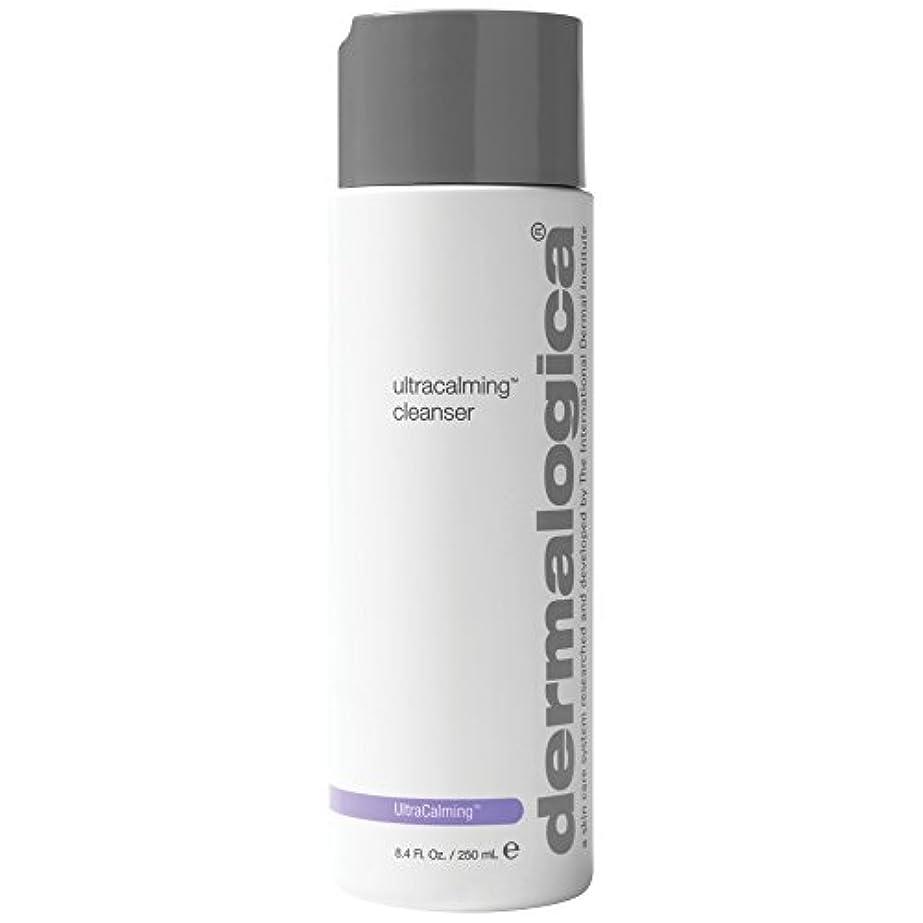 収束楽しませるインディカダーマロジカUltracalming?クレンザーの250ミリリットル (Dermalogica) (x6) - Dermalogica UltraCalming? Cleanser 250ml (Pack of 6) [...