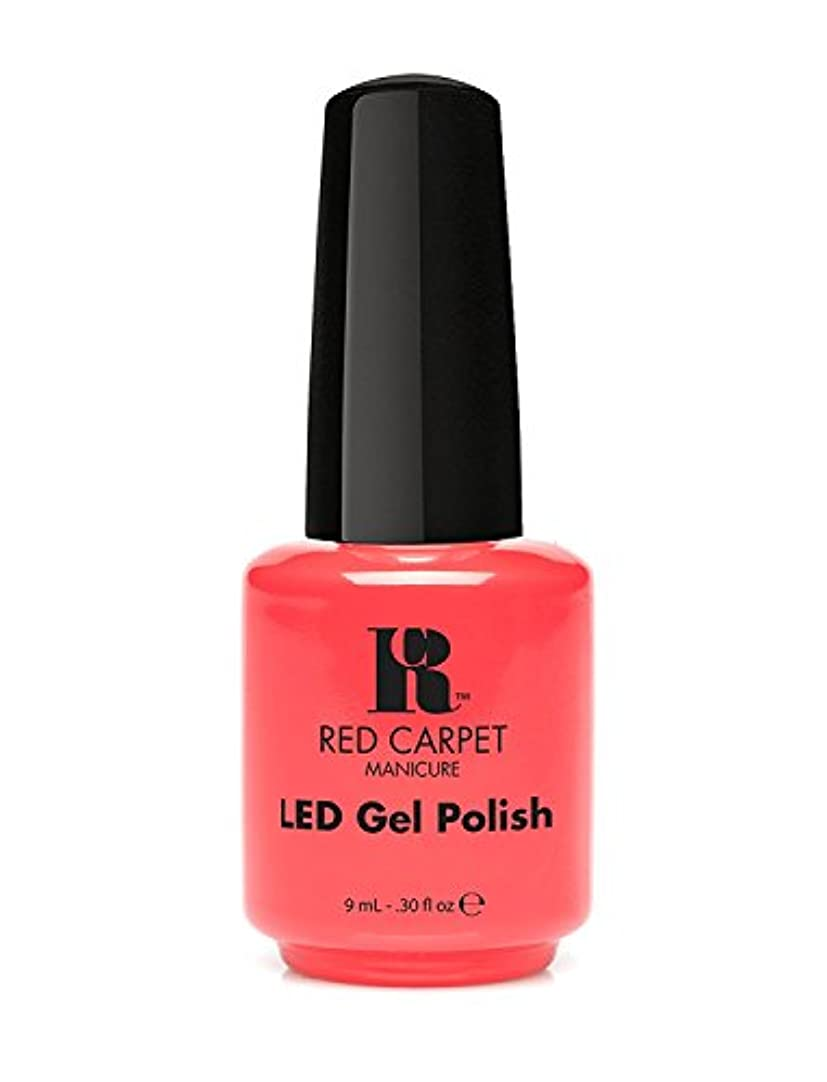 わずかな胃逸話Red Carpet Manicure - LED Nail Gel Polish - Mimosa by the Pool - 0.3oz/9ml